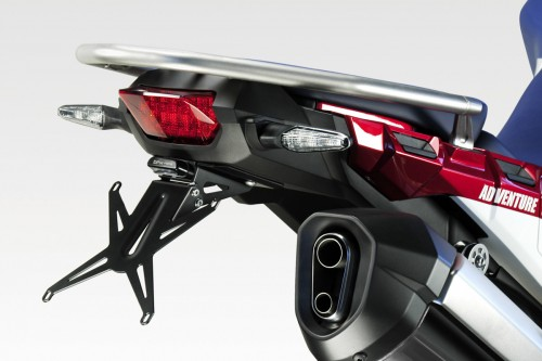 Kit license plate CRF1000L 2018-19 Standard and Adventure S.