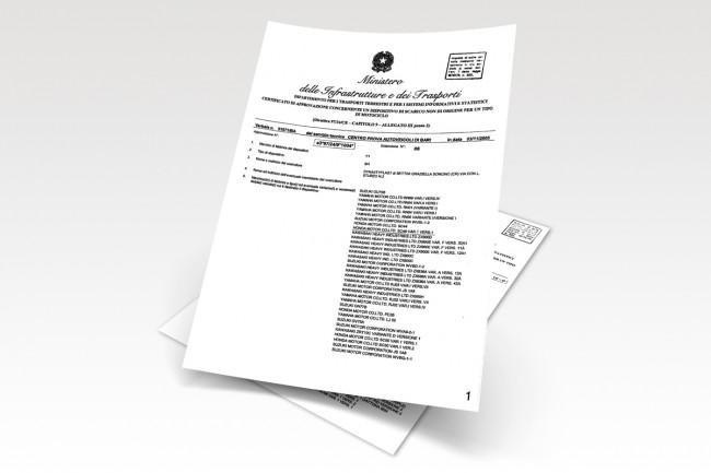 Copy of Homologation
