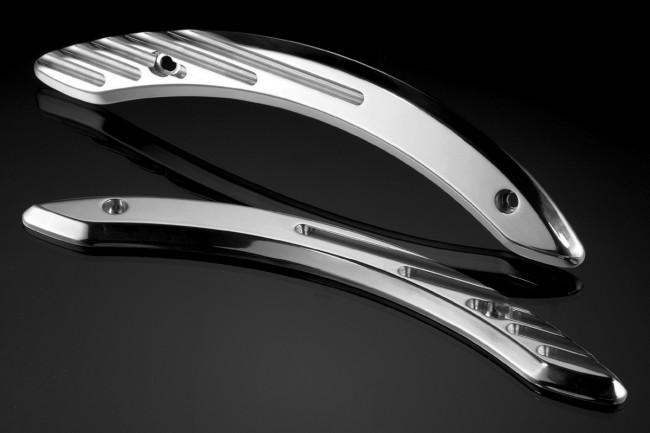 Aluminum frame trims