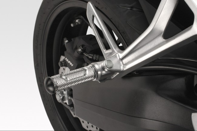 Passenger footpegs GP