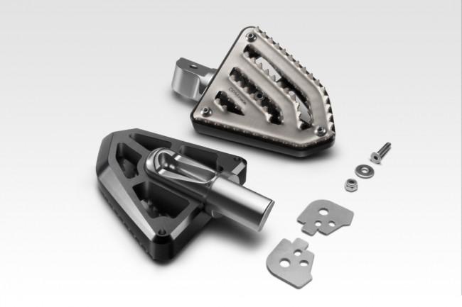 Kit passenger footrests MultiGrip