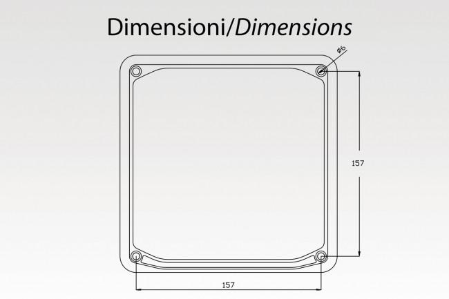 Plate frame REFLECTOR