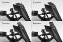 "Cupolino ""Owl's Head"" 4 position deflector | 4"