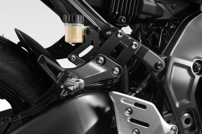 Kit passenger footrests supports