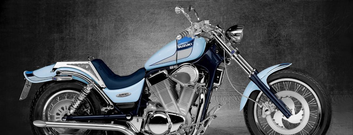 Suzuki VS 1400 INTRUDER machined from solid aluminium CRUISER